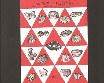 Food Talks From The Mirro Test Kitchen - Let's Make a Salad - Vintage Illustrated Advertising Recipe Booklet - Mirro Aluminum - Laura Wilson