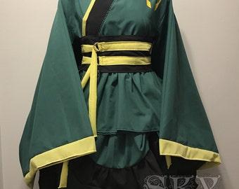 Loki Kimono Dress