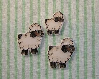 Sheep Embellishment set of 3