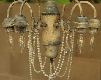 Shabby Chic Fairy Chandelier