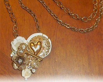 My Love is Pure Heart Pendant