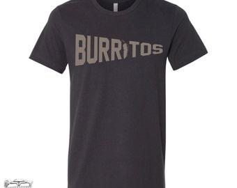Men's BURRITOS t shirt s m l xl xxl (+ Color Options)