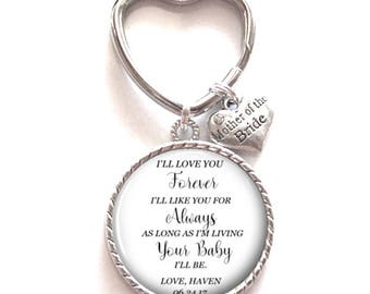 Mother of the Bride Gift | Keepsake Wedding Party Gift | Style 735