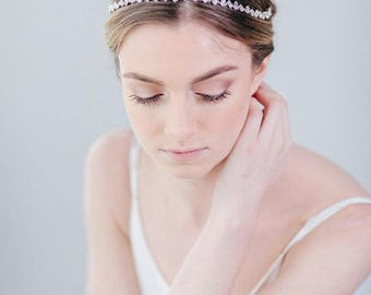 Crystal Headband | Rhinestone Headband | Bridal Hairband | Wedding Hairband | Bridal Headpiece | Wedding Hair Accessory [Cleo Headband]