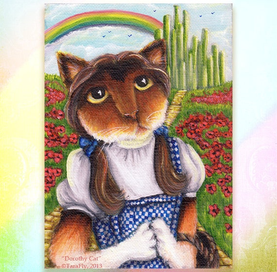 Dorothy Wizard of Oz 5x7 Fine Art Print