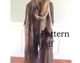 Katniss Scarf Knitting Pattern : PATTERN PDF Pattern for DIY Panem Katniss Inspired Cowl