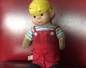 "Vintage 1950s ""Dennis the Menace"" 17"" Doll by Knickerbocker w/ Original Clothes"