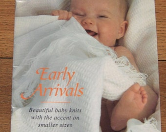Hayfield knitting patterns for BABY   early arrivals emphasis on smaller sizes patterns start from 12 inches preemies