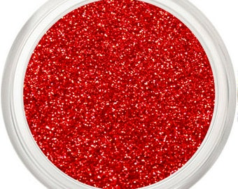 Red Glitter Makeup, Metallic Red, Fine Glitter Pigment, Face + Body, Red Glitter, Red Sparkle, Red Makeup, Eyes Lips Face, 99 Luftballons