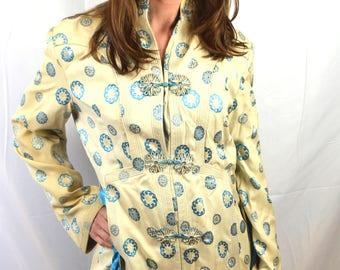 Gorgeous Vintage Eastern Brocade Jacket Robe - J. B. Tan