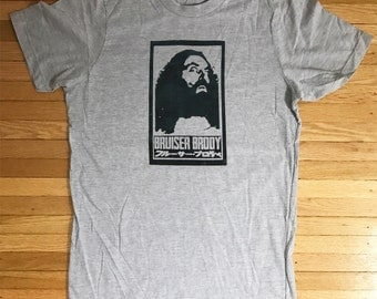Bruiser Brody Tribute Shirt Old School Classic Wrestling T-Shirt