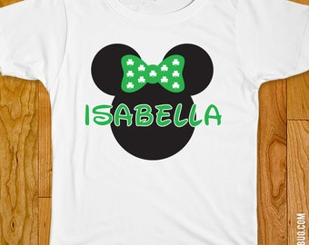 Minnie Mouse St. Patrick's Day Iron-On