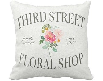 Pillow Cover Third Street Floral Shop