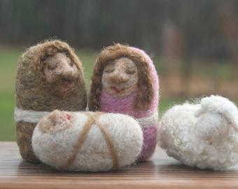 Childs Nativity Set