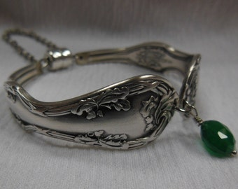 Antique Spoon Bracelet     7.25 inch