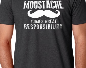 Fathers Day Gift With Great Moustache Mens T shirt Dad Shirt Fathers Day Shirt Dad Gift Mustache T Shirt Funny T Shirts