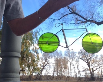 STAINED GLASS BIKE  available in many colors