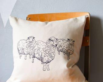 Throw Pillow - Throw Pillow Covers - Screen Printed Throw Pillows - Pillow Case - Pillow Cover - Home Decor - Pillows - Decorative Pillows