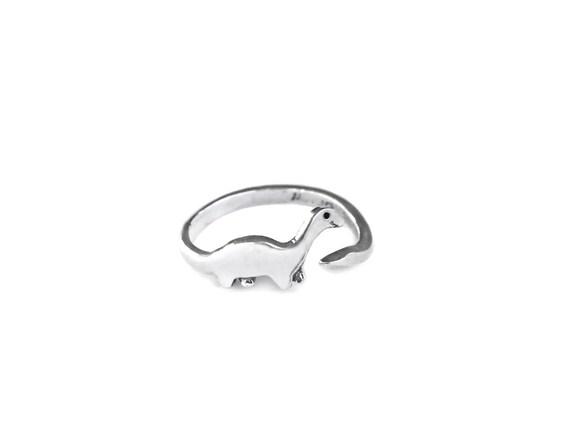 Dinosaur Sterling Silver Ring