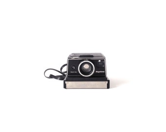 vintage 80s very RARE keystone WIZARD black Sx-70 POLAROID camera