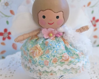 Baby Doll Toddler Gift Doll house Peg Dolls Baby Girl Baby Gift Baby Girl Gift Toddler Gift Christmas Gift Baby Birthday Gift Fabric Doll
