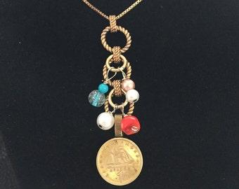 Coin Necklace 1976