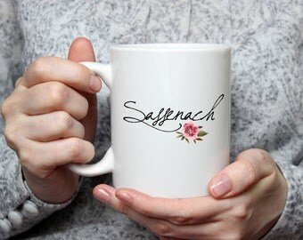 Sassenach | Outlander | Claire Randall | Jamie Fraser | Scottish Coffee Mug