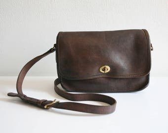 Expresso Brown Coach Satchel