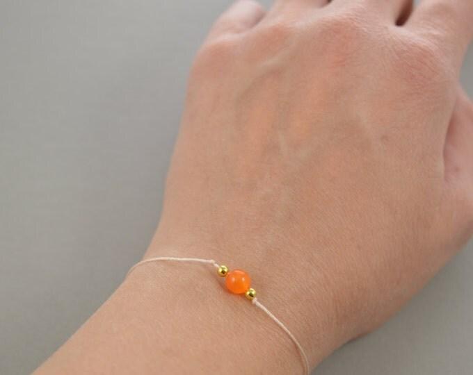 Tigereye Orange Bracelet
