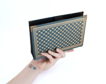 Dickens Book Purse - Vintage Book Clutch Handbag, Novel Bookpurse - Decadence Handbag OOAC - Great Christmas gift for a teacher, librarian