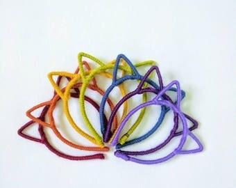 Rainbow Colors // Choice of One Headband // ROY G BIV
