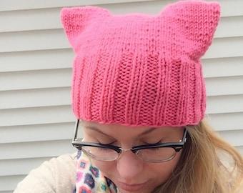 IN STOCK- Grenadine Pussy Hat