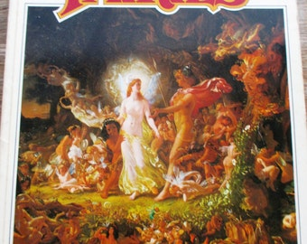 The Book Of Fairies With 40 Superb Paintings in Full color by Beatrice Phillpotts - Paperback