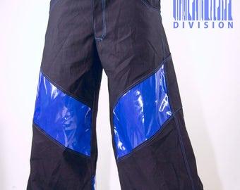 Phat Pants shuffling cybergoth rave wear