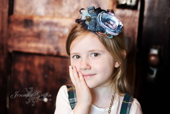 Steampunk Wedding Headband Fascinator for Kids