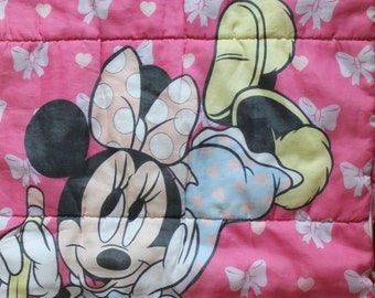 Vintage Minnie Mouse Sleeping Bag 1990
