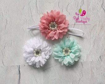 Baby Headband - You Pick 1 Baby Girl Hairbow - Baby Hair Accessories - Baby Girl Headbands - Infant Headband - Newborn Headband - Baby Bows