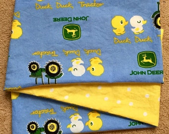 Spring John Deere, COTTON ***STAGE 2*** Children's G Tube Belly Band Wrap, (waist size 17.5-19.5 inches)