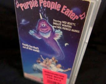 Purple People Eater [VHS] 1988
