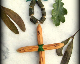 The Druid Oak & Mistletoe Protection Charm - Talisman, Amulet, Witchcraft