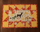 RESERVED FOR DONNALEA F. - Custom Order Placemat Set, Woodland Creatures