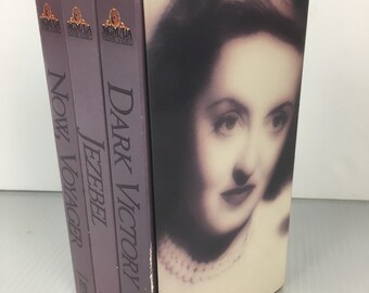 Bette Davis 3 Movie VHS Box Set Turner Movies