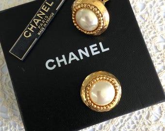 Vintage Jewellery, Chanel, Earrings, Wedding Jewellery, Bridal Jewellery, Genuine, Costume Jewellery, Baroque, Designer Jewellery, UK Seller