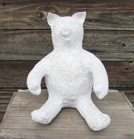 Shop Towels Paper Mache: Paper Mache Pig Form On Etsy