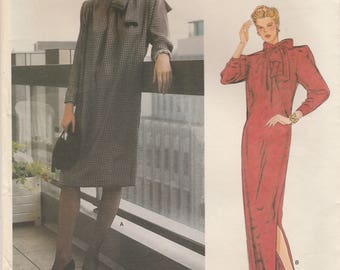 80s Givenchy Dress Pattern Vogue 1309 Size 10 Uncut