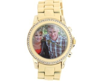 Personalized Watch Custom Picture or Logo on the Wrist Watch