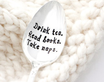 Drink Tea. Read Books. Take Naps. Gifts for Readers.
