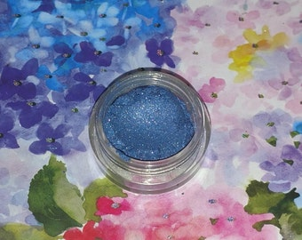 Siren's Tears - Bright shimmery blue with blue spakles mineral eyeshadow 5 gram VEGAN