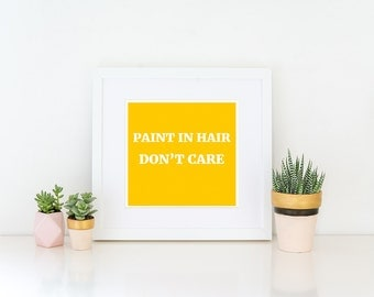 ART PRINT Graphic Design Typography Quote Wall Art Decor Funny Gift