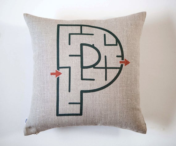 Personalized gift for kids - monogrammed pillows - personalized throw pillows - kids pillows - decorative pillows - pillow cover